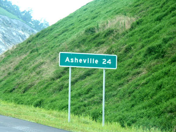 to asheville